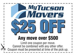 coupon for moving services.