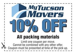 moving and packing materials and supplies coupon.